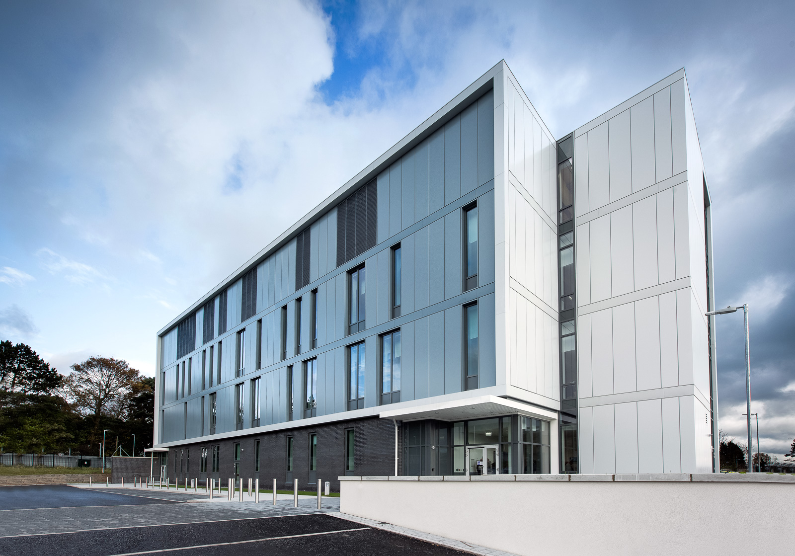 One of our recent construction projects - the new Forensic Science NI building