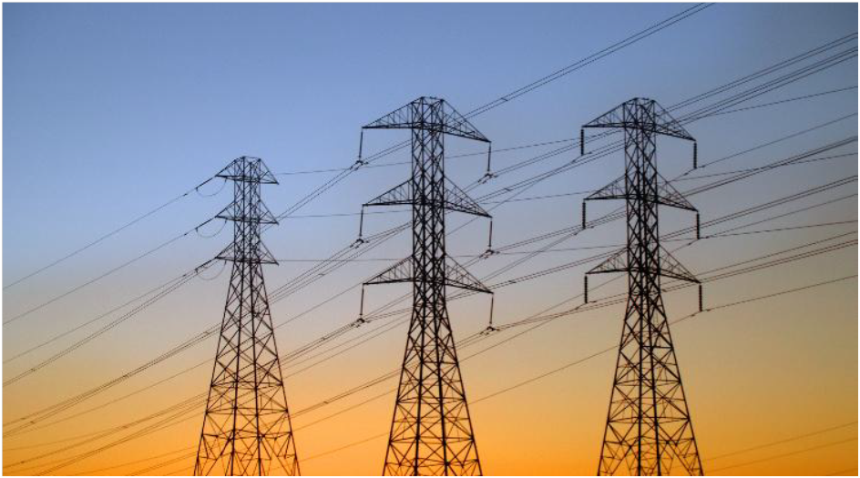 Image showing electricity pylons