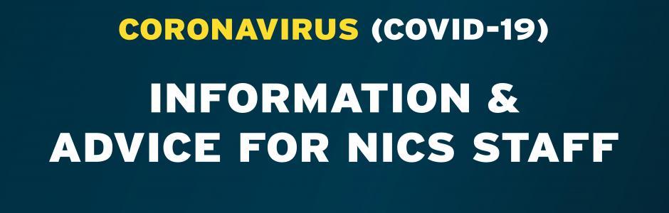 Coronavirus (COVID-19) Information and advice for NICS staff