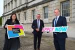 Finance Minister Conor Murphy launches apprenticeship scheme