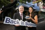 Finance Minister has urged uptake of the Back in Business rate support scheme