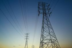Image of an electricity pylon to illustrate news about the utility regulator