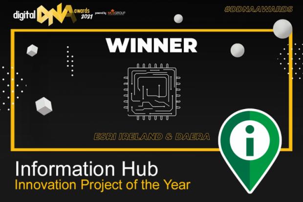 DDNA Award for DAERA Information Hub