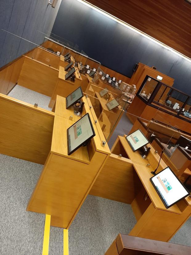 Craigavon Court Completed Jury Pods