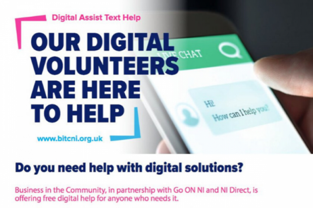 Our Digital Volunteers are here to help.