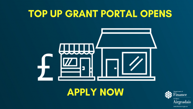 Grant portal opens for business top up payments – Murphy