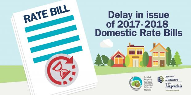 Image of domestic rates bill delay poster