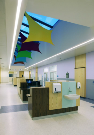 Image shows orthopaedic ward at Craigavon Area Hospital