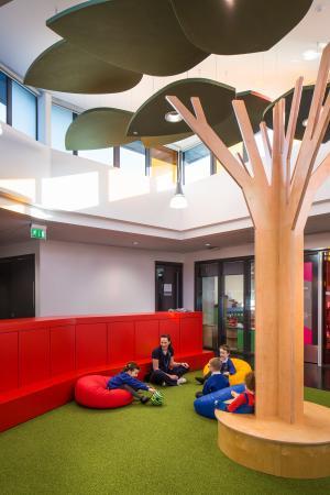 Internal space at Arvalee Special School
