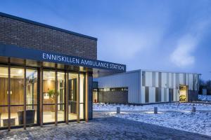photo of Enniskillen Ambulance Station