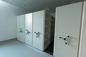 Image of FSNI storage for evidence