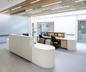 Omagh Hospital nurses station