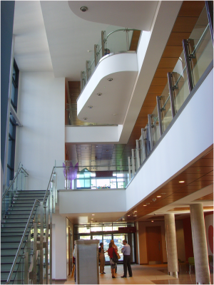 interior of Shankill Health and Wellbeing Centre