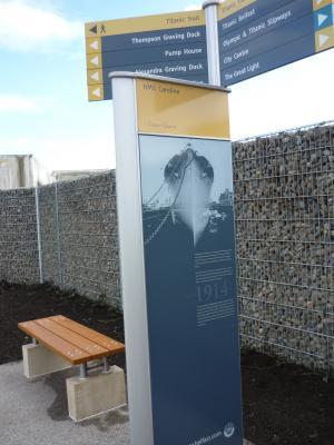 New Titanic Quarter Riverside Walkway